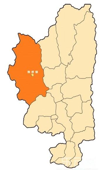 猴桥镇地理位置——腾冲县最西端.