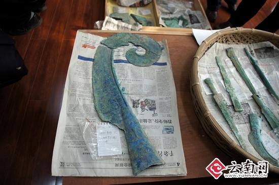 云南昌宁大甸山 青铜文化 引关注 可上溯至东周秦汉