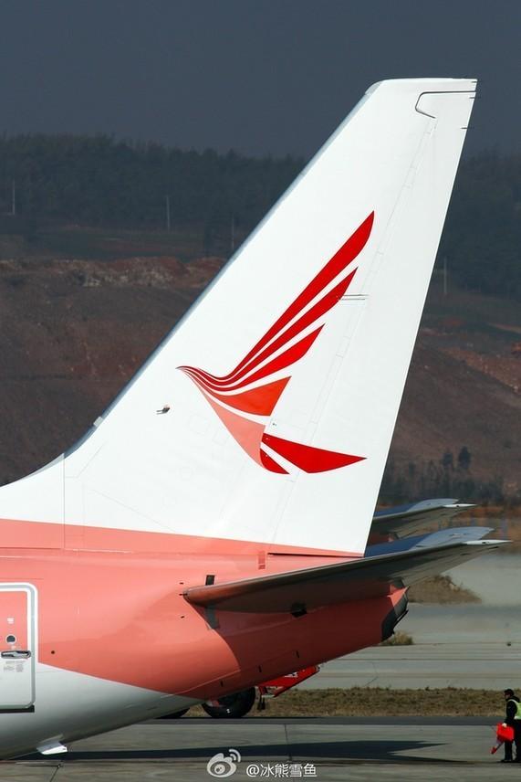 瑞丽航空首批飞机降落长水机场