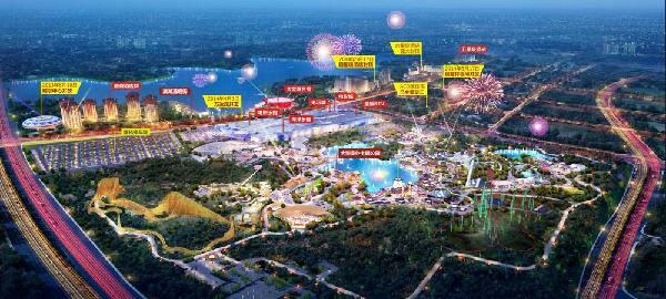 南昌万达文化旅游城的区域规划