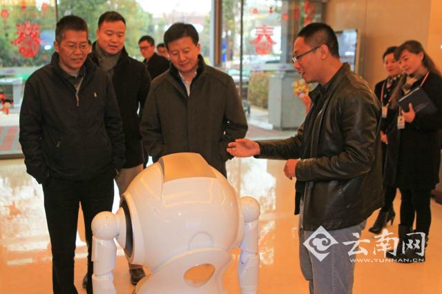 金沙线上娱乐开户:智能机器人亮相昆明长水国际机场
