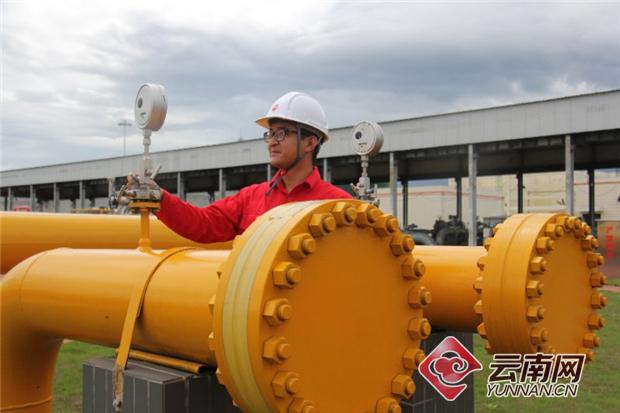 中缅原油管道国内段一周年累计输油890万吨