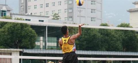 万博manbetx手机版下载省第十五届运动会(青少年组)沙滩排球比赛拉开序幕