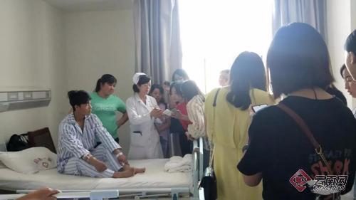 护理涉外礼仪图片素材