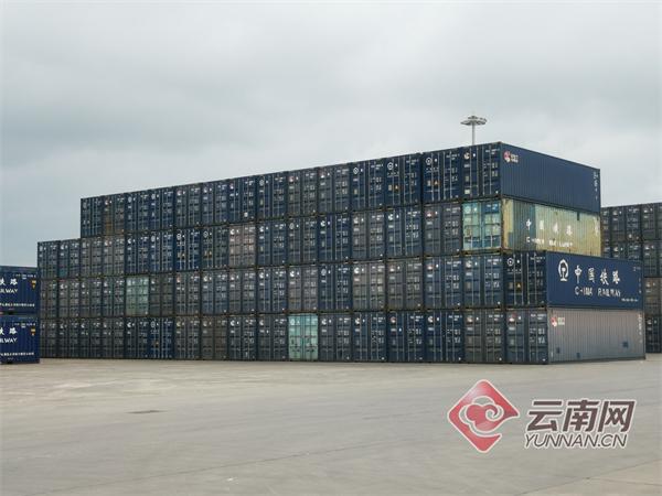 云南西部陆海新通道班列已累计发送货物504列26638标准箱